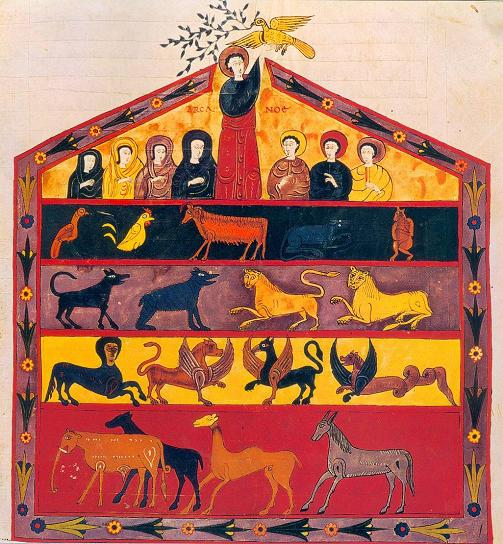 Noah's Ark. Beato miniature