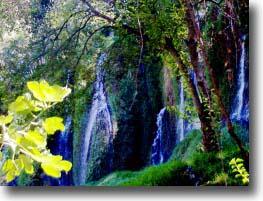 Cascada Caprichosa. Piedra